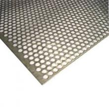 Perforerede stålplader