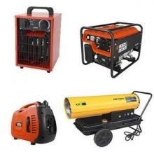 Generator/varmeblæser/ kompressor