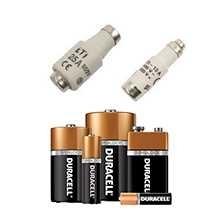 Sikringer og batterier