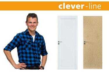 Indvendige døre. Swedoor clever-line